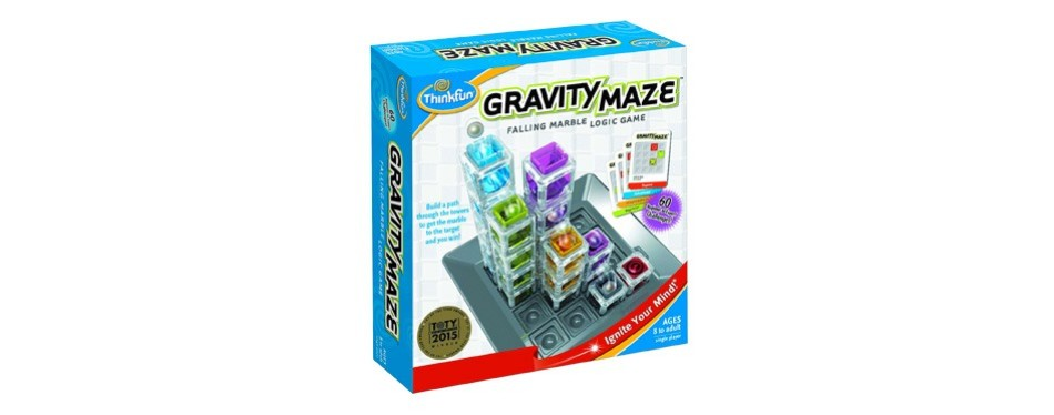 think fun - gravity maze - marble run logic game and stem