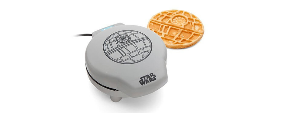 thinkgeek star wars death star waffle maker