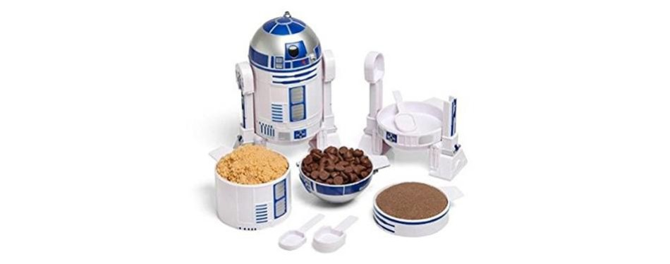 thinkgeek star wars r2d2 measuring cup set