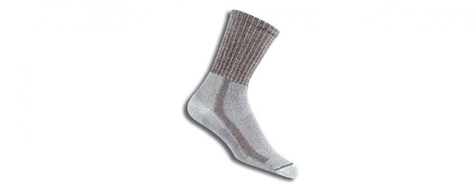 thorlos thick padded crew hiking socks