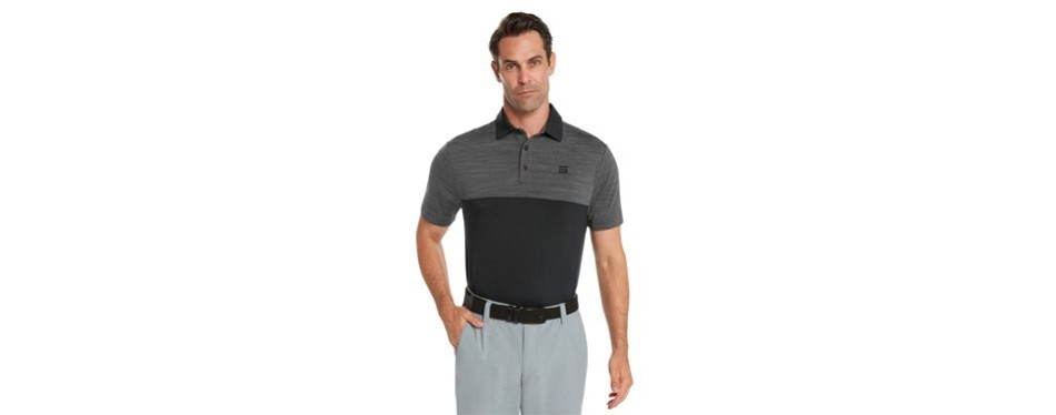 three sixty six dri-fit golf shirts for men - moisture wicking short-sleeve polo shirt