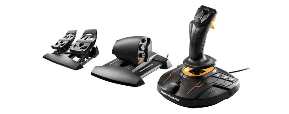 thrustmaster fcs flight stick pack