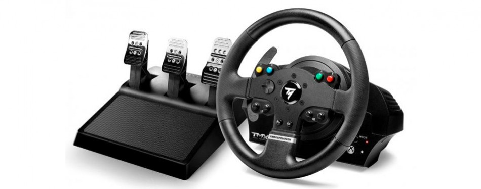 thrustmaster vg tmx pro racing wheel