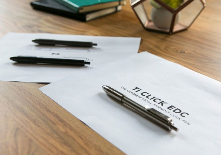 Ti Click EDC Pen