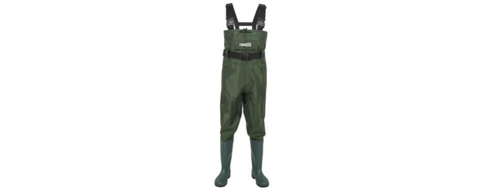 tidewe bootfoot chest wader pants