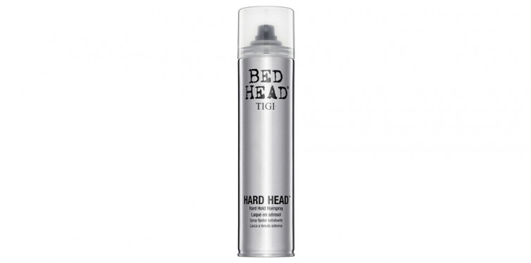 3. TIGI Bed Head Hard Head Hair Spray