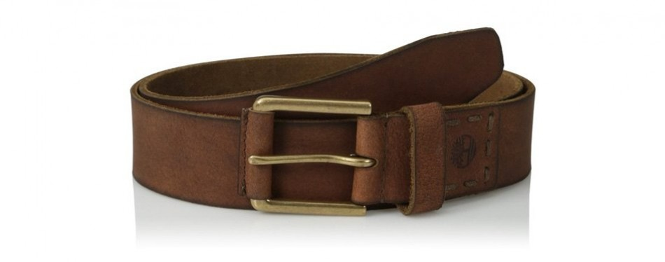 timberland casual leather belt