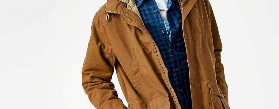 timberland waxed canvas 3-in-1 field coat