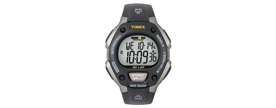 timex t5e901 ironman classic 30 triathlon watch