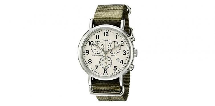 Timex Weekender Chronograph Watch