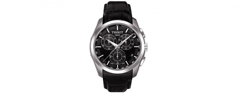 tissot couturier swiss quartz watch