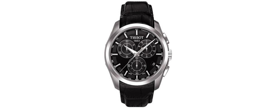 tissot couturier swiss quartz watch