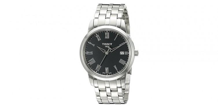 Tissot Men's Swiss Quartz Stainless Steel Watch