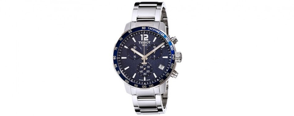 tissot quickster blue watch