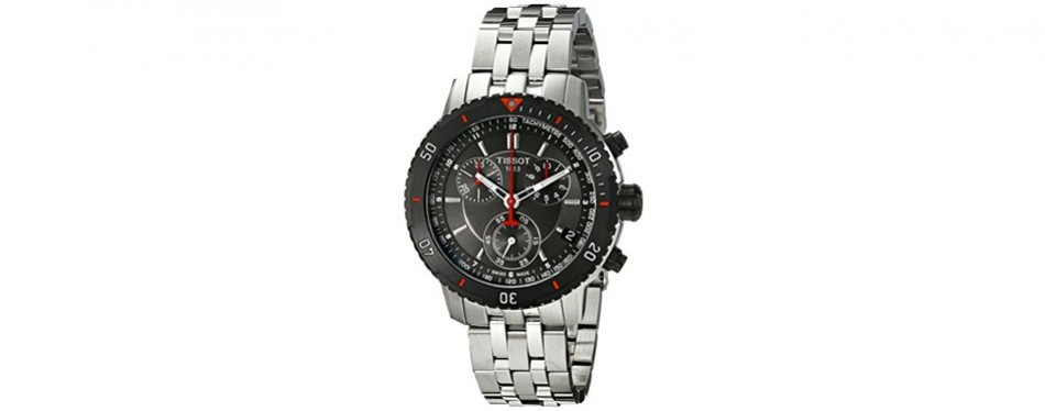tissot stainless steel watch