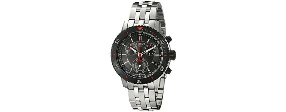 tissot stainless steel watch