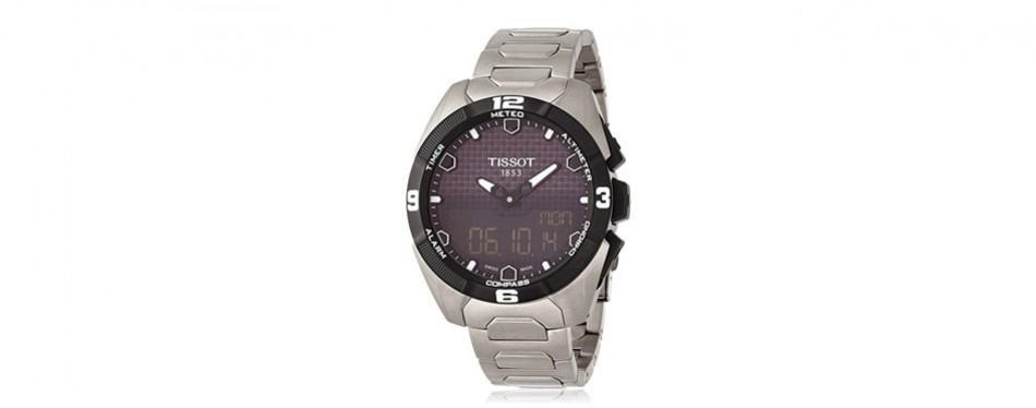 tissot t-touch expert analog-digital display watch