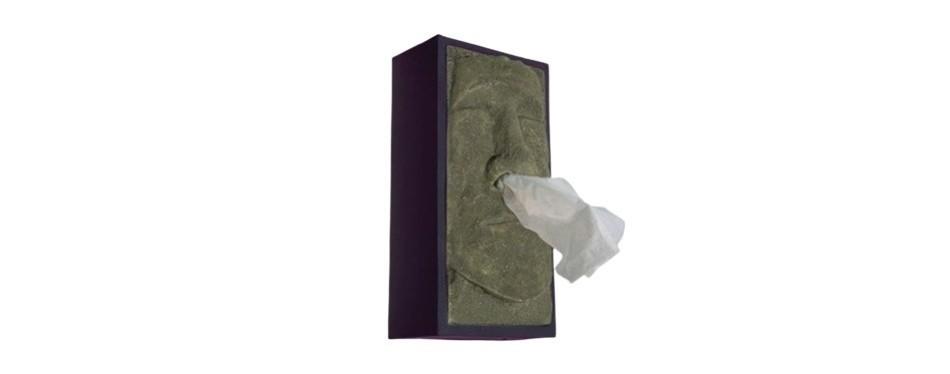 retro 21 tiki tissue box holder
