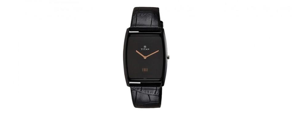titan mineral quartz slim watch