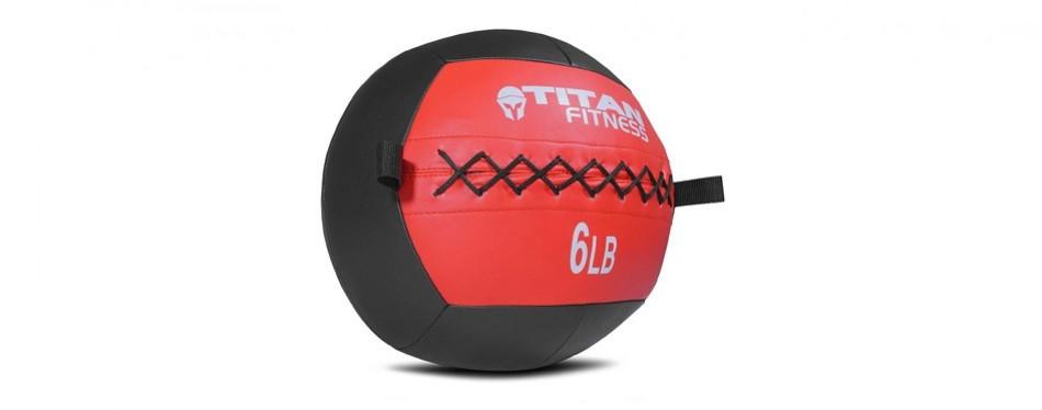 titan soft wall medicine ball