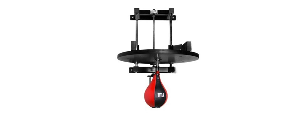 title boxing precision adjustable speed bag platform