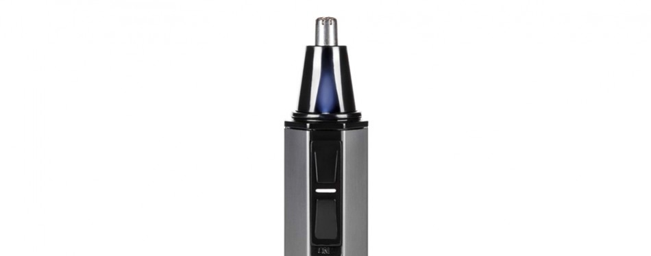 toilettree products professional nose hair trimmer