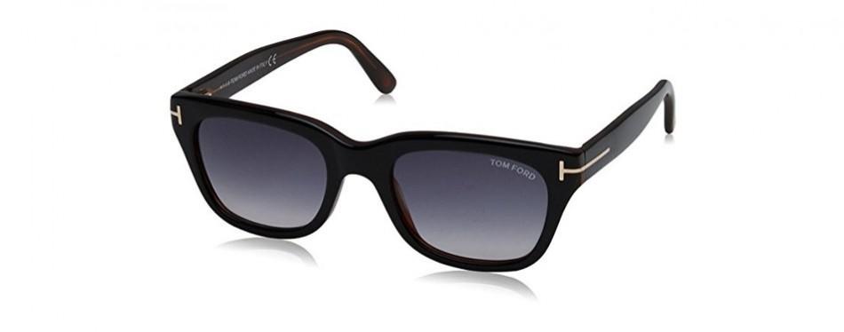tom ford snowdon sunglasses in black