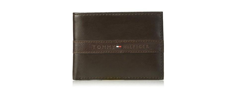 tommy hilfiger men's rfid wallet