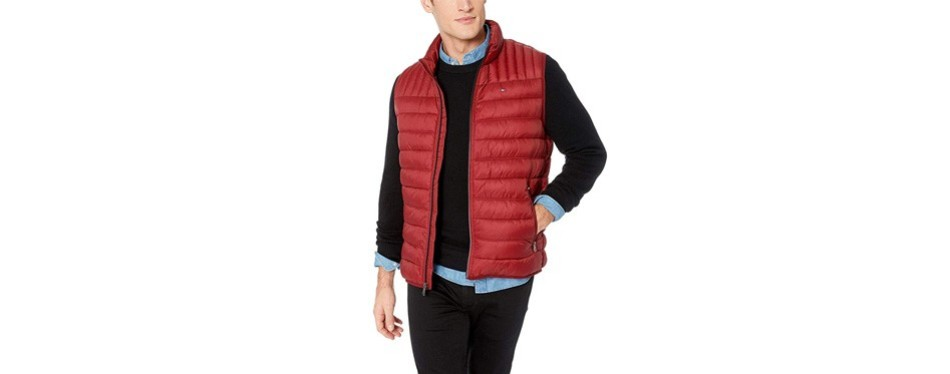 tommy hilfiger ultra quilted puffer vest
