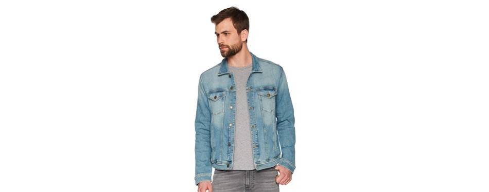 tommy jeans mens classic trucker jean jacket