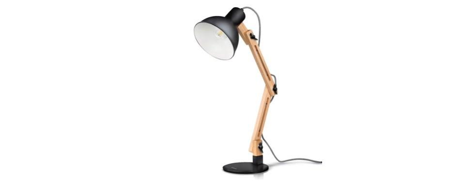 tomons swing arm led desk lamp