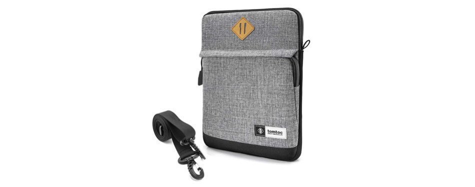 tomtoc tablet shoulder bag sleeve case