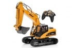 top race 15 channel full functional remote control excavator construction tractor
