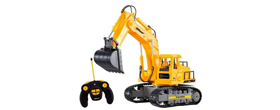 top race 7 channel full functional rc excavator