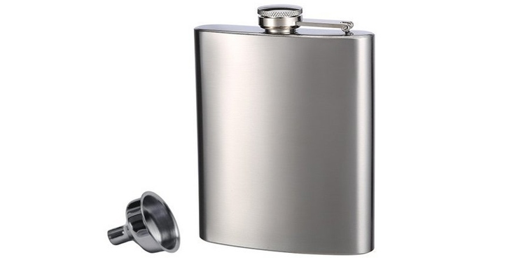Top Shelf Flasks – Stainless Steel Flask and Funnel Set