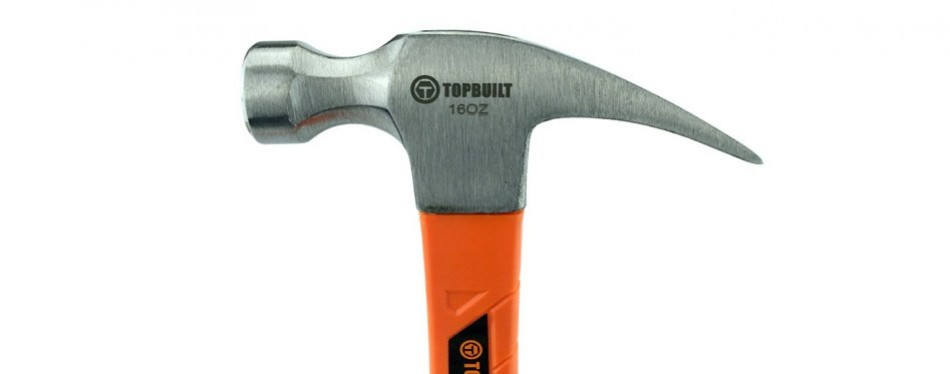 topbuilt 16 ounce rip claw hammer
