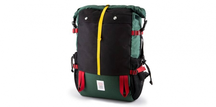 topo mountain rolltop backpack