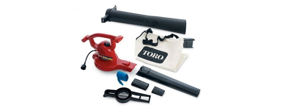 toro 51619 ultra electric leaf blower vac