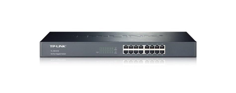 tp-link 16-port gigabit ethernet unmanaged switch tl-sg1016
