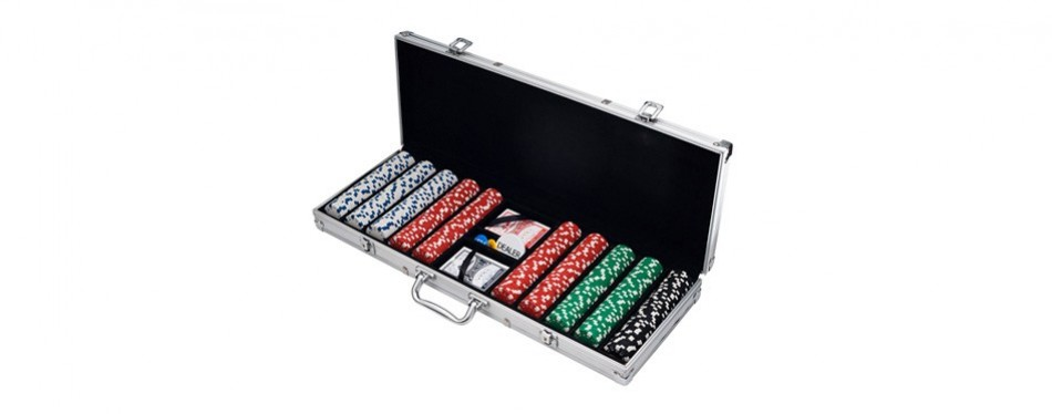 trademark poker chip set