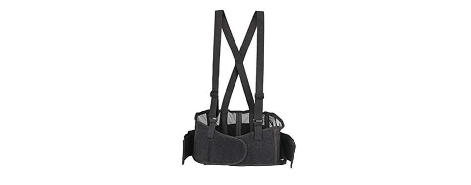 trademark supplies back brace lumbar support