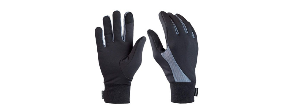 trailheads lightweight gloves with touchscreen fingers