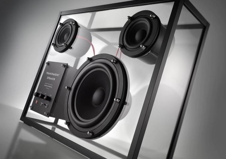 Wireless Transparent Speakers