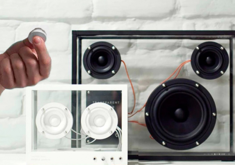 Wireless Transparent Speakers