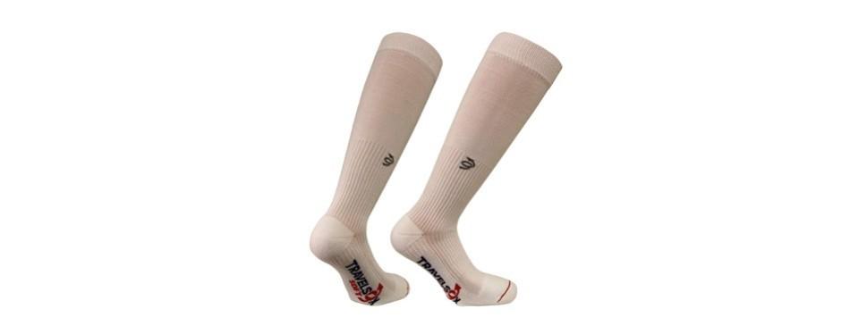 travelsox original patented graduated travel socks