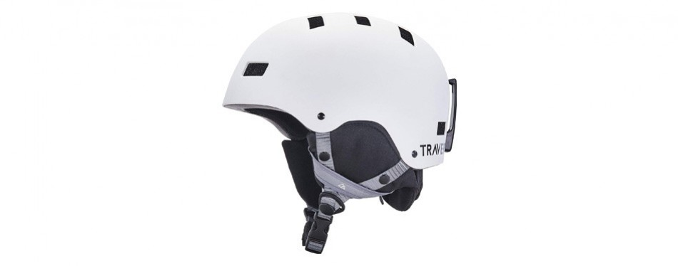 traverse sports dirus convertible ski & snowboard/bike ski helmet