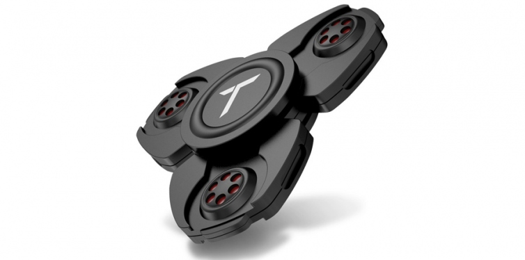 Trianium Brand Black Metal Fidget Spinner