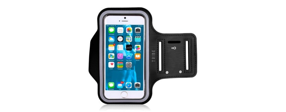 tribe water resistant cell phone armband for iphone
