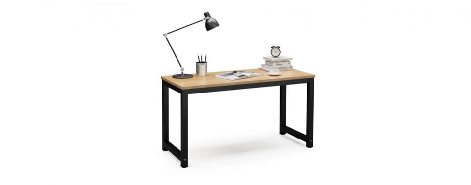 tribesigns large computer office desk