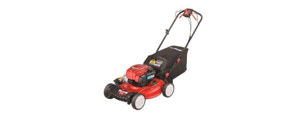 troy-bilt rear wheel drive self-propelled lawnmower